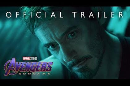 Avengers Endgame Akan Berdurasi 3 Jam,Berikut Trailernya