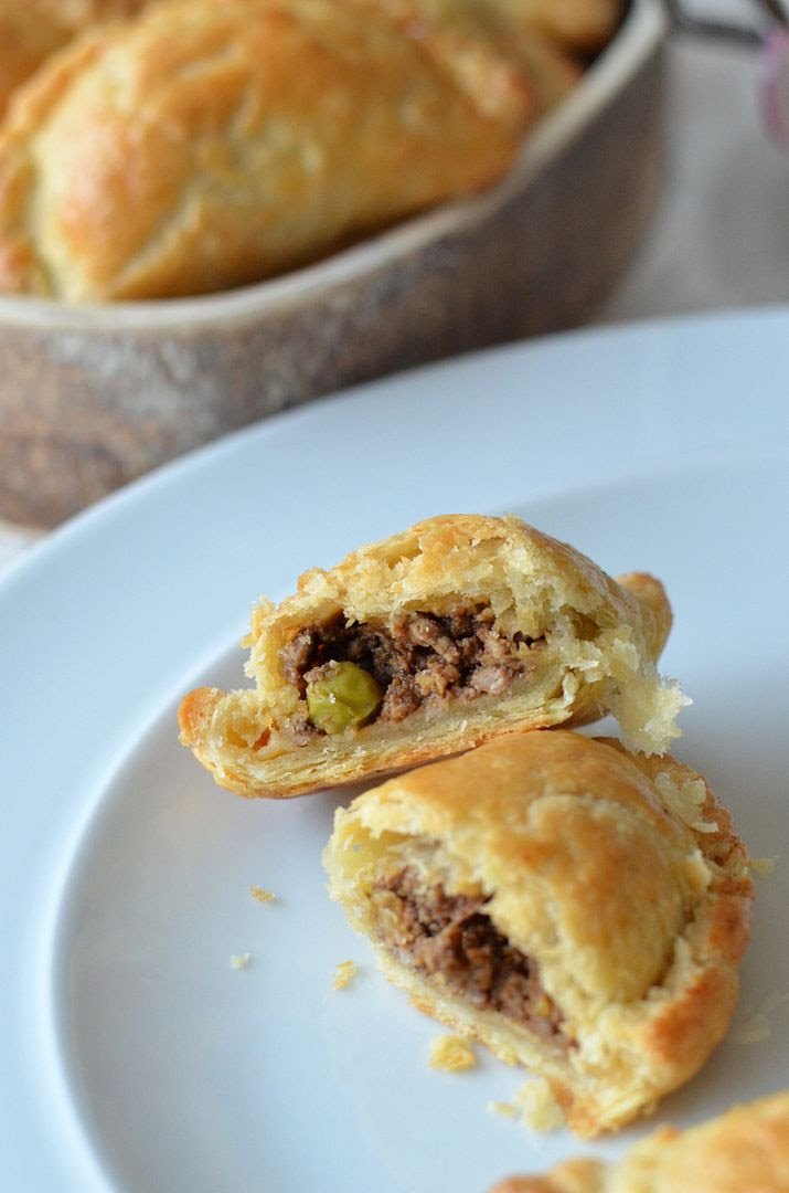 Mini Lamb Keema Pasties