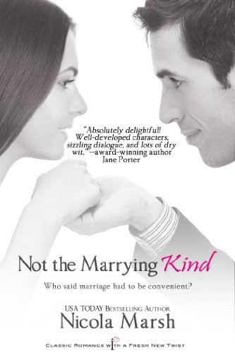 Not the Marrying Kind (Entangled Indulgence) by Nicola Marsh