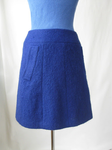 Skirt 2 showing pocket and seaming