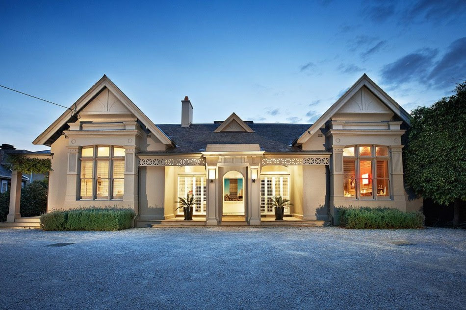 Elegant Victorian Residence In Melbourne Gets A Classy ...