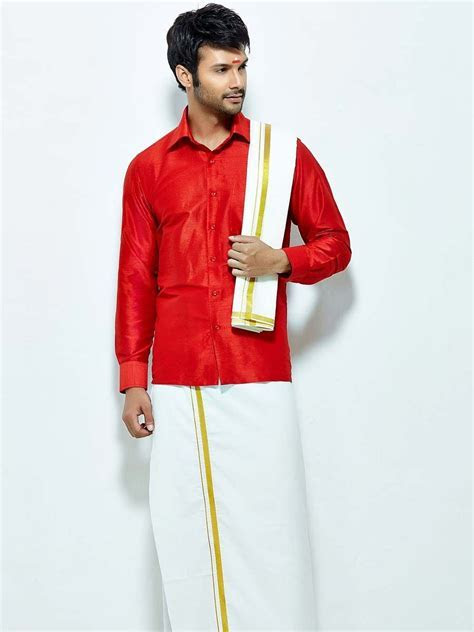 Pin by Bharatplaza on South Indian Mens Wear   Indian