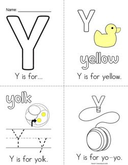 Letter Y Books - Twisty Noodle