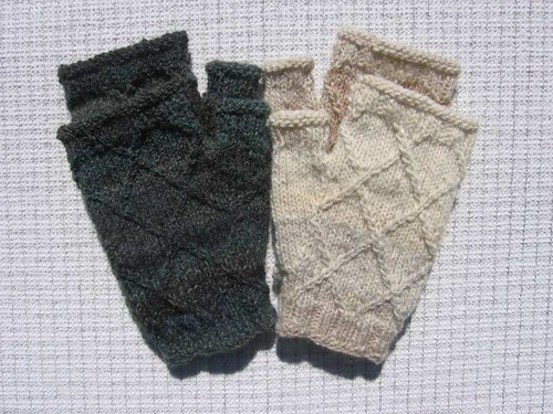 Two pair of Rough Diamonds Mitts