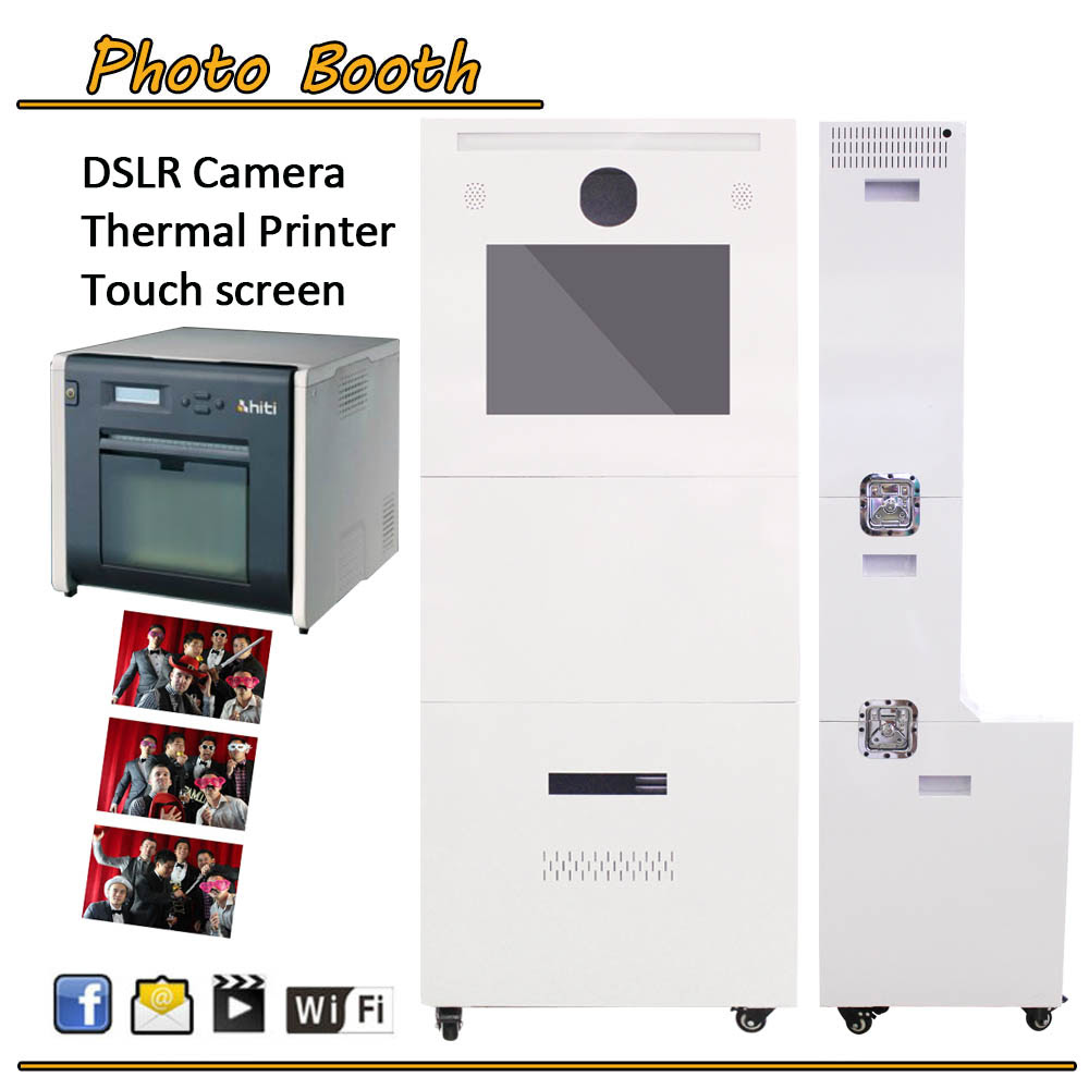 Social Media Advertising Printing Photo Booth Kiosk Vending Machine