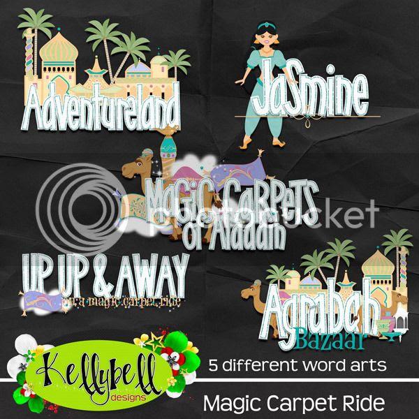 Magic Carpet Ride Word Art