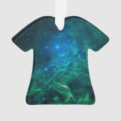 Flaming Star Nebula Ornament