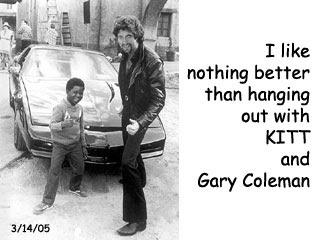 Gary Coleman & KITT
