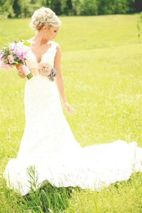 Country Wedding Dresses on Pinterest   Country Weddings
