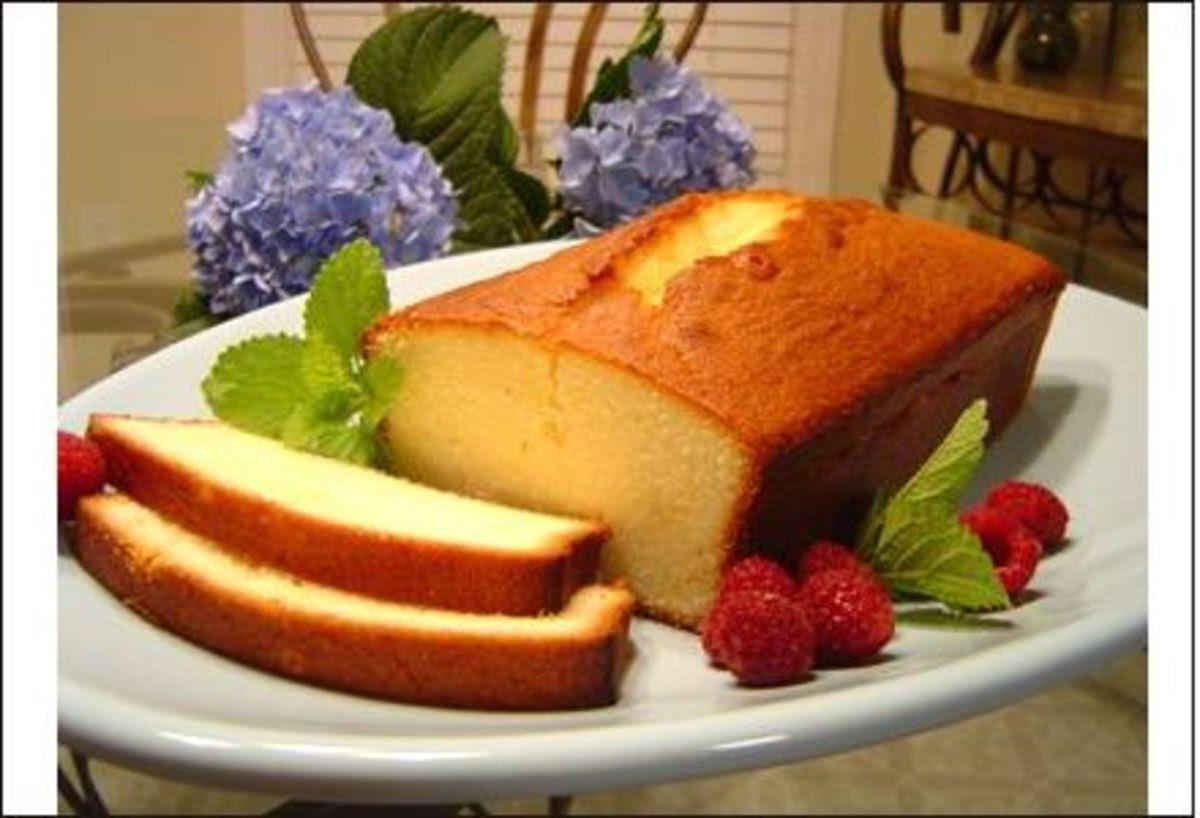 Sugarless Christmas cake recipe# 2: Diabetic pound cake