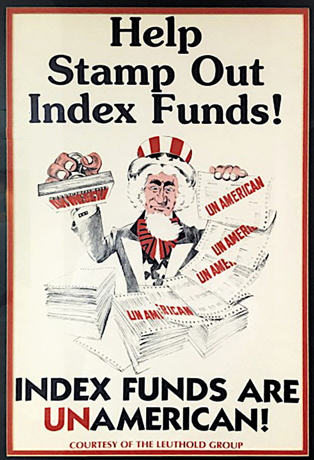 Stampout index funds