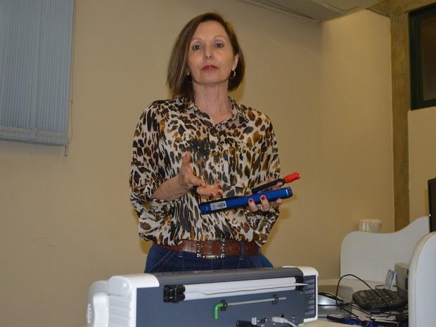 Coordenadora do NAP da UCDB, professora Maineide Zanotto Velasques (Foto: Anderson Viegas/G1 MS)