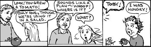 Home Spun comic strip #771