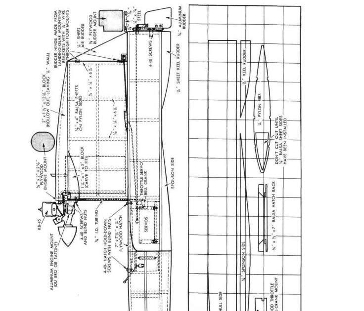 Boat Manual: Rc Airboat Plan