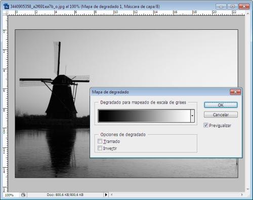 Atardeceres y Amaneceres en Photoshop - Paso 1