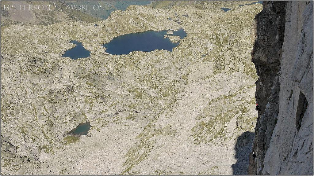 LES MALHEURS DE PIKATCHOU 200 MD sup 6b - Gran pic de Espade 2859 m