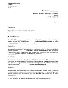 Letter Of Application: Une Lettre Explicative Motivant La Demande D'admission