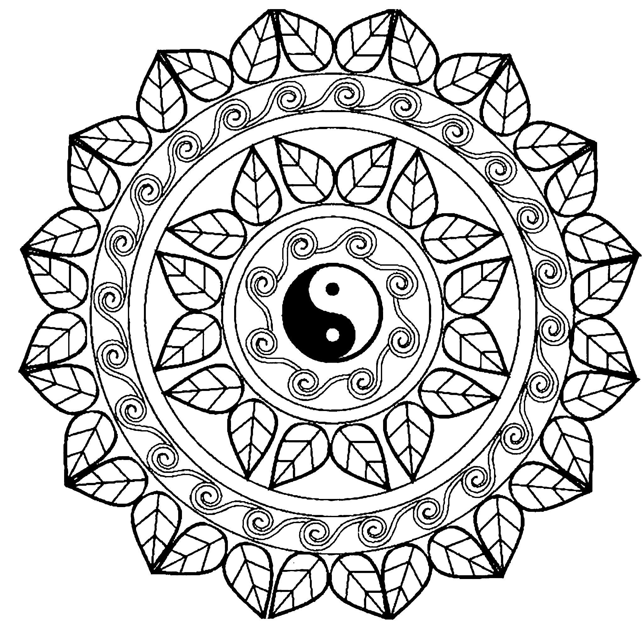 Yin Yang Drawing At Getdrawingscom Free For Personal Use Yin Yang
