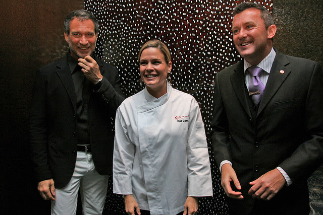 Cat Cora's first restaurant in Asia is at Resorts World Sentosa