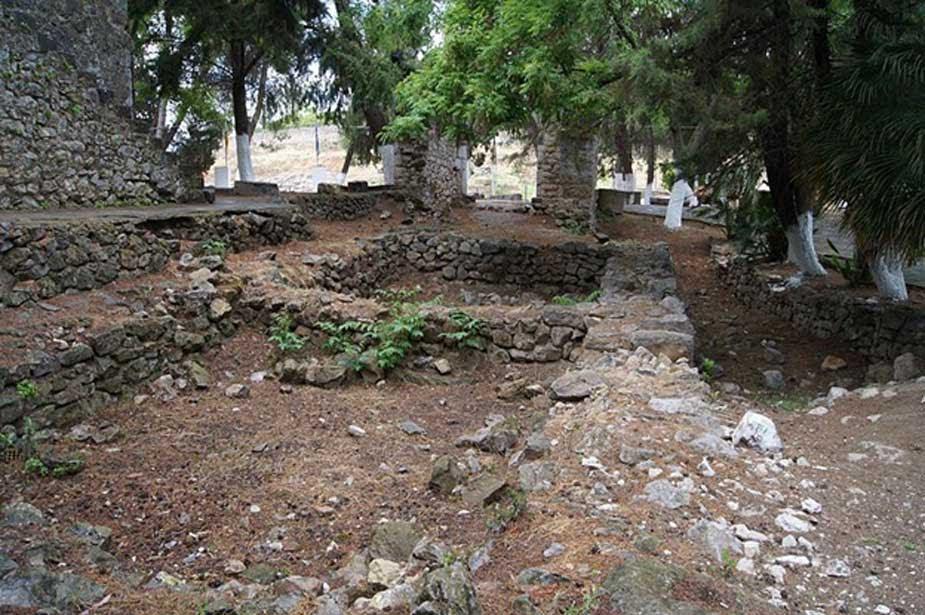 Cimientos del palacio micénico de Orcómeno. (CC BY SA 4.0)