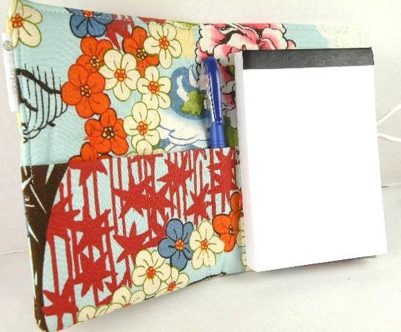 """Organizer Notepad Clutch Journal """"KOTO"""" Paper and Pen are Included"""