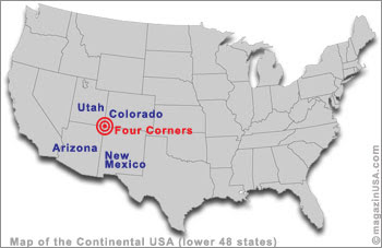 Map 4 Corners United States  Corners Area Map Of Usa on 4 corners region, 4 corners states, 4 corners map with counties, 4 corners map western us, 4 corners utah-colorado, 4 corners logo, 4 corners colorado map, 4 corners us a platform, 4 corners national parks map,