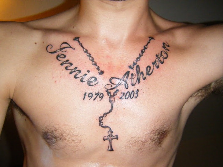 Chest Cross Tattoos For Men Tattoos Designs Ideas