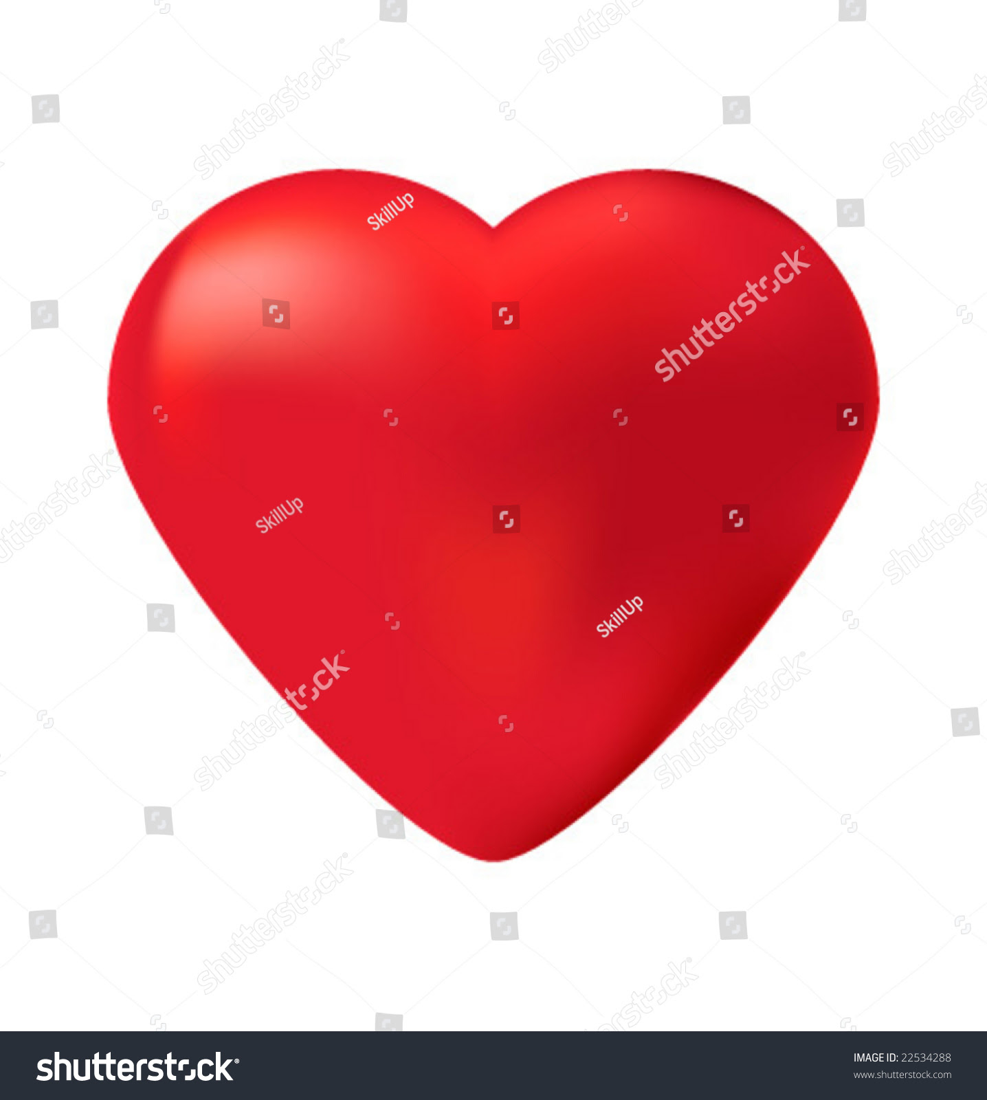 Vector Editable Heart Stock Vector 22534288 - Shutterstock
