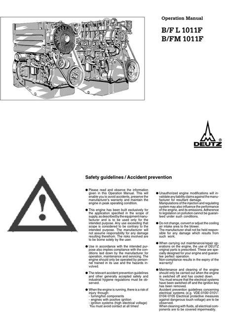 1011-DEUTZ | Internal Combustion Engine | Motor Oil