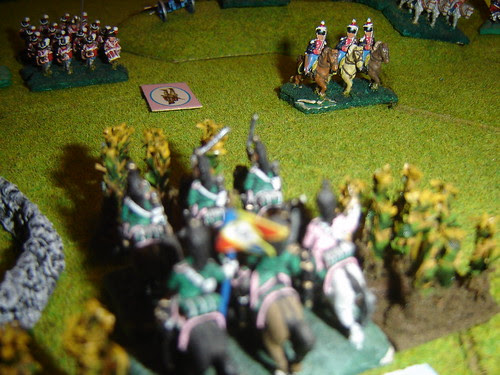 French cavlary see off attackers