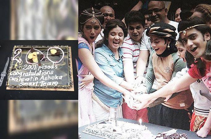 Image result for Ashoka Samrat completes 200 episodes