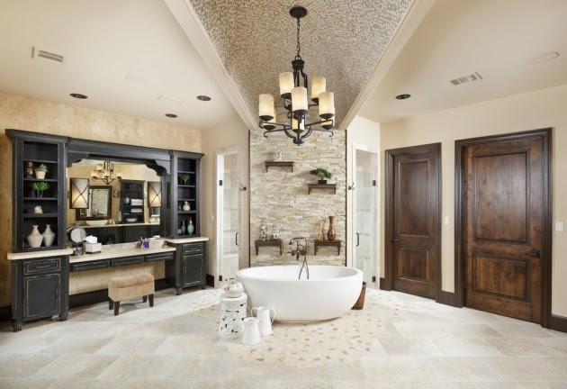 15 Elegant Mediterranean Bathroom Designs That Define The ...