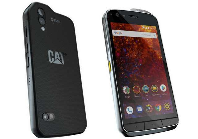Cat S61 Rugged Smartphone with Improved FLIR Thermal Camera, Android 8.0 Oreo Announced