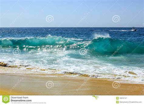 Ocean Waves Stock Photo   Image: 40972747