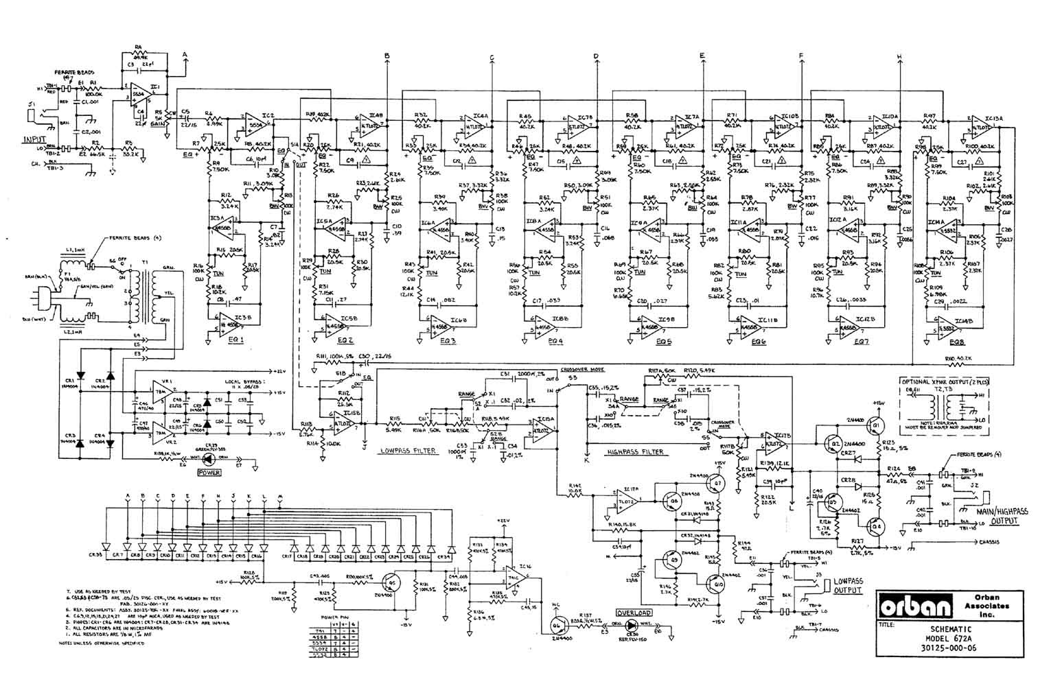 dbx crossover wiring diagram image 4