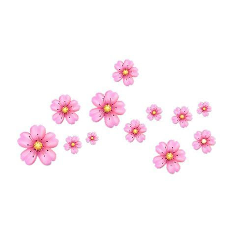crown hearts heart heartemoji emojis pinkemoji flowerem