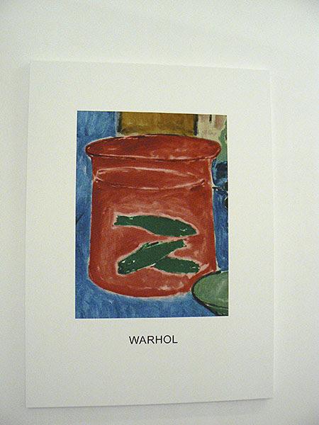 John Baldessari, Warhol Red