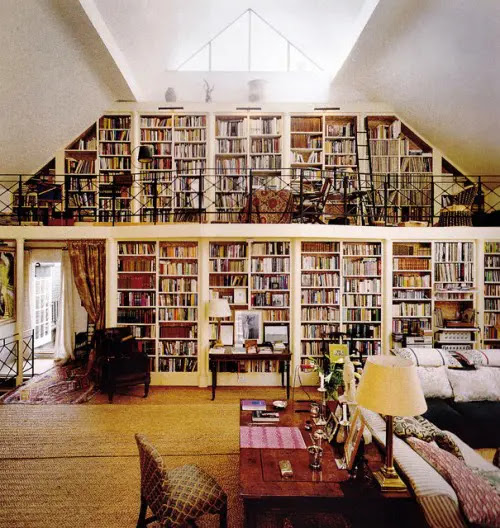 20 Cool Home Library Design Ideas 15 Fabulous Home Library Room ...