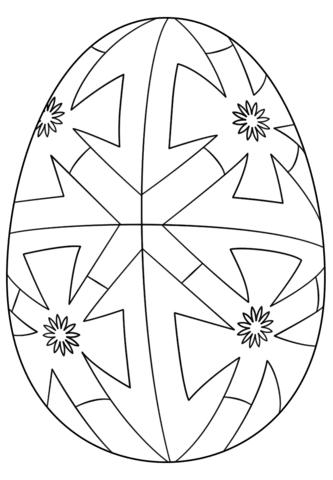 Disegno Di Uova Di Pasqua Da Colorare Disegni Da Colorare E