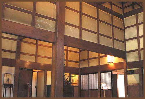 Chizu 06 Ishitani residence entrance hall