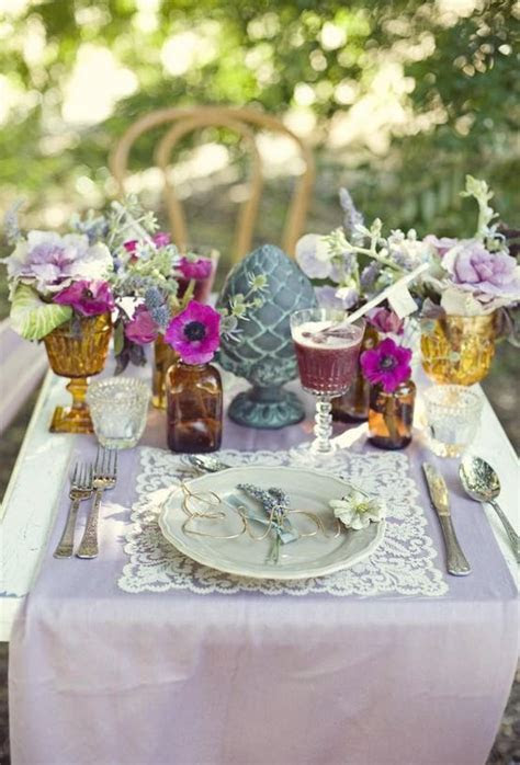 Wedding Table Decor Ideas Photograph   Wedding   Unique Wedd