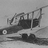 Airplane, possibly World War I fighter plane, 1916