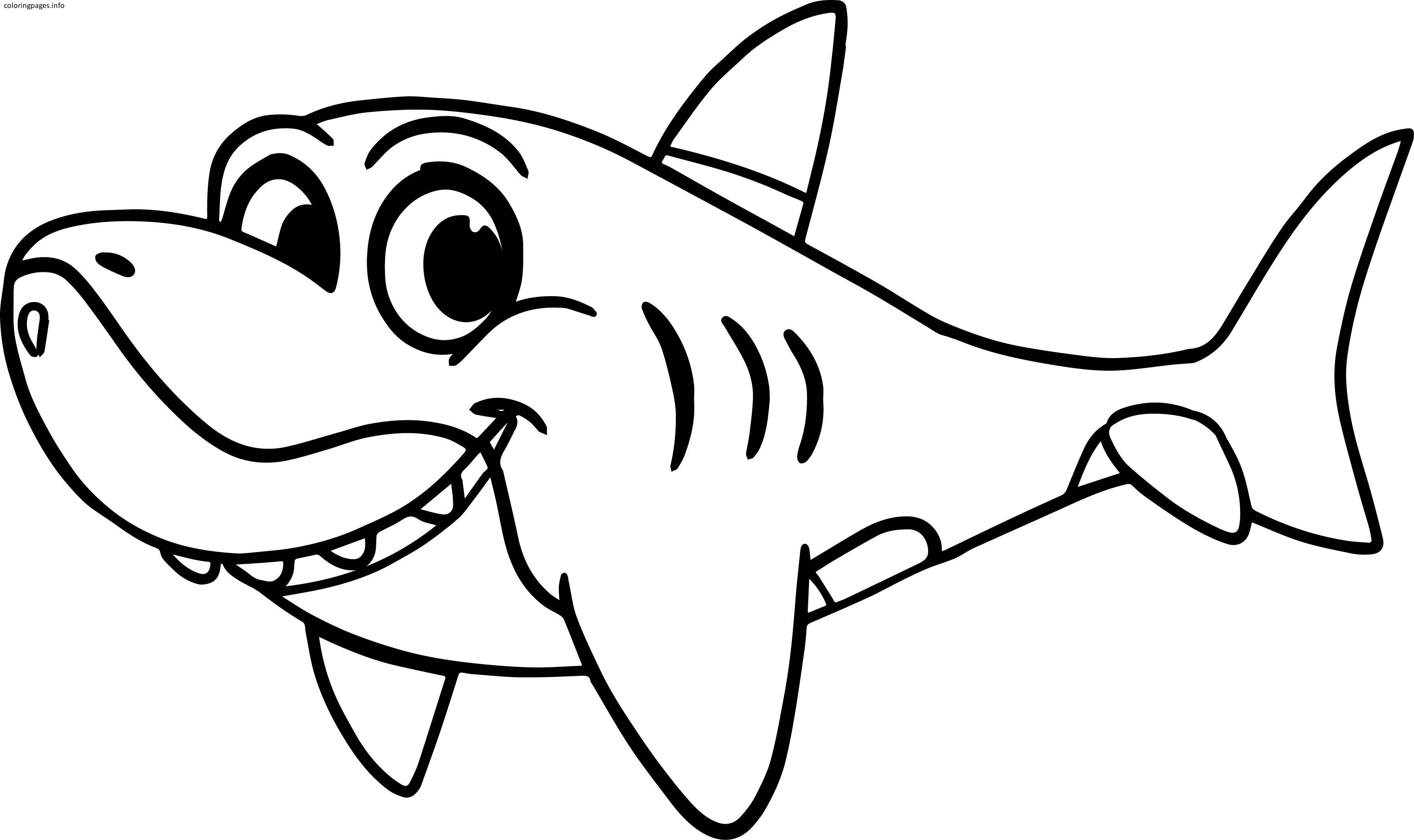 Shark Drawing For Kids at GetDrawings | Free download