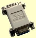 Null modem adaptor
