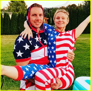 Kristen Bell & Dax Sheppard Get Patriotic For Fourth of July!
