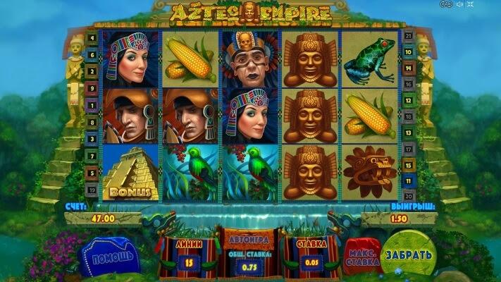 Игровой автомат aztec empire earth фрахта
