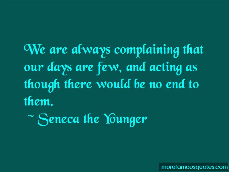Always Complaining Quotes Top 58 Quotes About Always Complaining