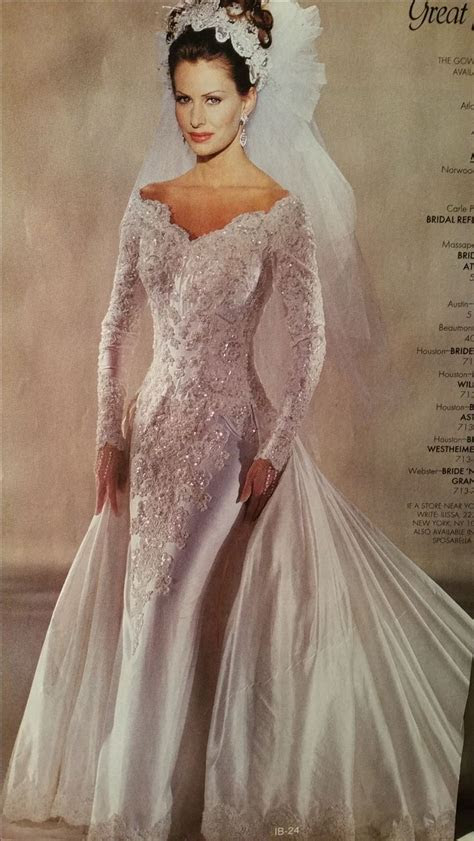 81 best images about 1990 Wedding Gowns on Pinterest