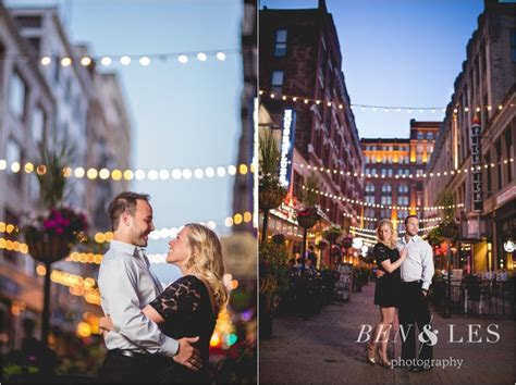 Kylene & Michael Engagement First Look: Cleveland, OH