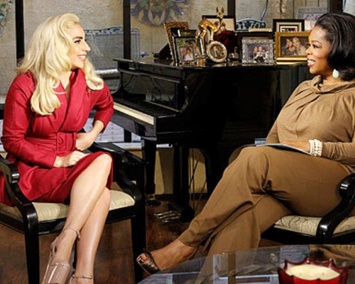 Oprah's Next Chapter (3/18/12), Lady GaGa